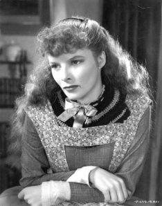 Katherine Hepburn as Jo in Little Women, 1933