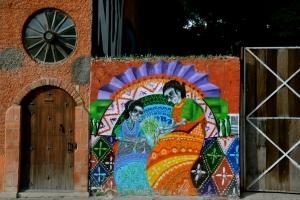Street art in San Miguel de Allende